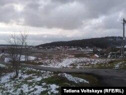 Вид на поселок Дудергоф