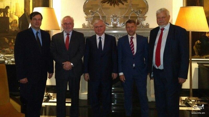 Նալբանդյանը հանդիպեց ԵԱՀԿ Մինսկի խմբի համանախագահներին