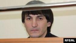 Подсудимый мусульманин Валерий Твердохлеб в суде. Село Жаксы, Акмолинская область, 5 марта 2010 года.