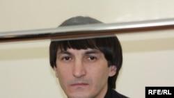 Мұсылман Валерий Твердохлеб өзіне қарсы қозғалған қылмыстық іс бойынша сот отырысында. Жақсы ауылы, Ақмола облысы. 5 наурыз 2010 жыл.