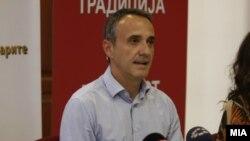Претседателот на ЗНМ, Младен Чадиковски