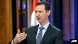 Սիրիայի նախագահ Բաշար ալ-Ասադը հարցազրույց է տալիս Fox News-ին, Դամասկոս, 19-ը սեպտեմբերի, 2013թ․