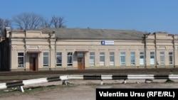 Gara feroviară de la Drochia
