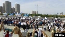 Мероприятия в Астане, приуроченные в 550-летию Казахского ханства. 11 сентября 2015 года.