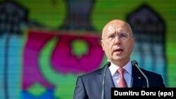 Pavel FIlip vorbind cu ocazia ZIlei independenței, Chișinău, 27a august 2017