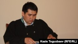 Нуркен Жексембиев, судья Алмалинского районного суда. Алматы, 12 мая 2014 года.