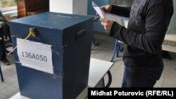 Glasanje u BiH - ilustracija