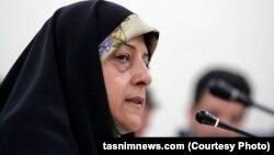 معصومه ابتکار، رئیس سازمان محیط زیست ایران