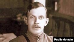 Радола Гайда, на тот момент в чине полковника Чехословацкого корпуса, в Сибири, лето 1918 года