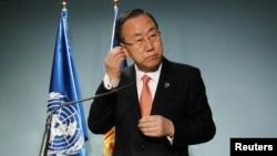 Glavni tajnik UN Ban Ki-moon