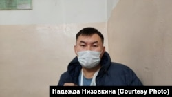 Дмитрий Баиров в комнате допросов ОВД