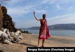 Писатель, путешественник Сергей Соловьёв