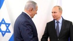 Putin Netanýahu bilen duşuşar