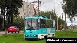 Ілюстрацыйнае фота. Трамвай у Віцебску