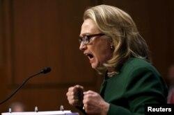 Хиллари Клинтон в американском сенате
