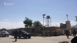 Afghan Soldiers' Coffins Transported After Balkh Base Assault