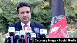 Shekib Mostaghni, spokesperson for Afghanistan's Ministry of Foreign Affairs