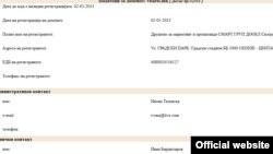 Податоци на Марнет за интернет доменот apoteka.mk.