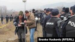 Srbija: Policijsko obezbeđenje na Korman polju