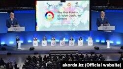 Президент Казахстана Касым-Жомарт Токаев на открытии форума писателей Азии. Нур-Султан, 4 сентября 2019 года.