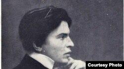 Fotografia de pe coperta monografiei G. Enescu