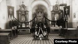 Интерьер польского храма