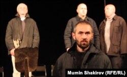 Спектакль «Анна Ивановна» в студии «Театр» Алексея Левинского памяти В. Шаламова.