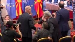 Со аплауз проследено потпишувањето на протоколот со НАТО