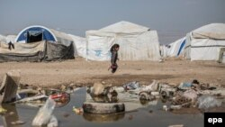 Իրաք - Փախստականների ճամբար Բաղդադի մերձակայքում, 3-ը փետրվարի, 2016թ․