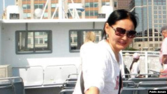 Карлыгаш Жакиянова, жена казахстанского политика Галымжана Жакиянова.