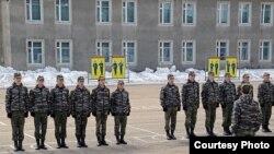 Усольский гвардейский кадетский корпус. Из архива семьи Макаровых