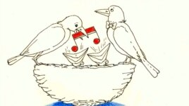 "Azerbaijan --"" Eurovision,"" by cartoonist Rashid Sherif."