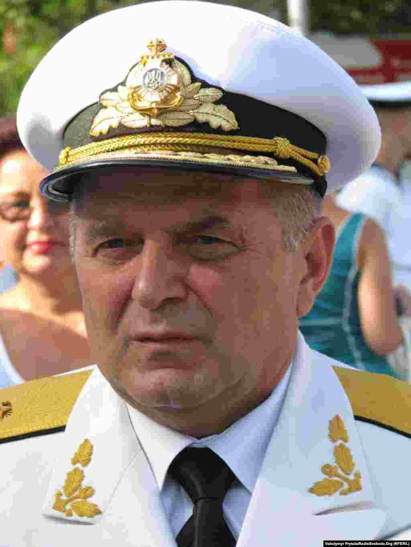 Командувач ВМС України віце-адмірал Віктор Максимов