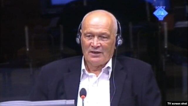 Svjedok Fejzija Hadžić u sudnici 29. kolovoza 2012.