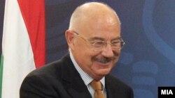 Унгарскиот министер за надворешни работи Јанош Мартоњи