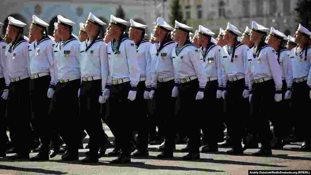 Матросы ВМС Украины