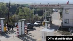 КПП и таможня «Баграташен» на армяно-грузинской границе