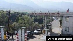 Բագրատաշենի մաքսատունը հայ-վրացական սահմանին: