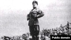 Италиянын фашисттик лидери Бенито Муссолини, 1940