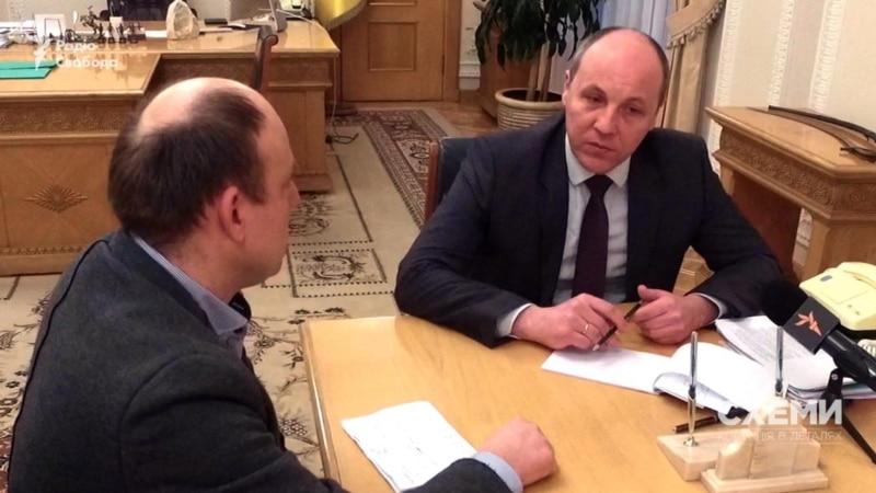 Спікер Ради Парубій каже, що не знає, скільки депутатів входять до коаліції – «Схеми»