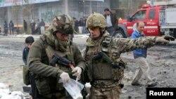 Војници на ИСАФ во Авганистан