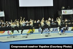 Збірна України з аеробіки