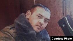 Чек ара чырында курман болгон Хуснидин Хажиев.