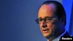 Presidenti i Francës, Francois Hollande.