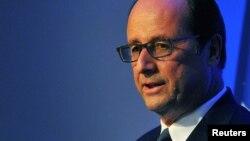 Президент Франції Франсуа Олланд (на фото) прийме лідерів Вірменії та Азербайджану
