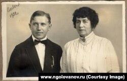 Николай Голованов и Антонина Нежданова
