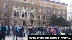 Treći dan protesta u Sarajevu