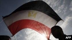 Участники акций протеста в Каире
