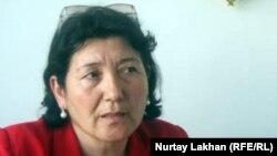 Роза Бекбасарова, учитель истории школы № 28 в селе Бесагаш.