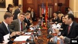 Делегација на Конгресот на САД на средба со пратениците во Собранито на Македонија.